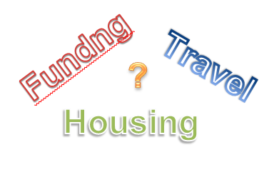 Funding Travel Housing words